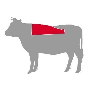 Posición del chuletón en la vaca